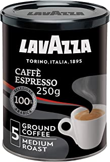 Lavazza Caffè Espresso Ground Coffee, Medium Roast, 250 g