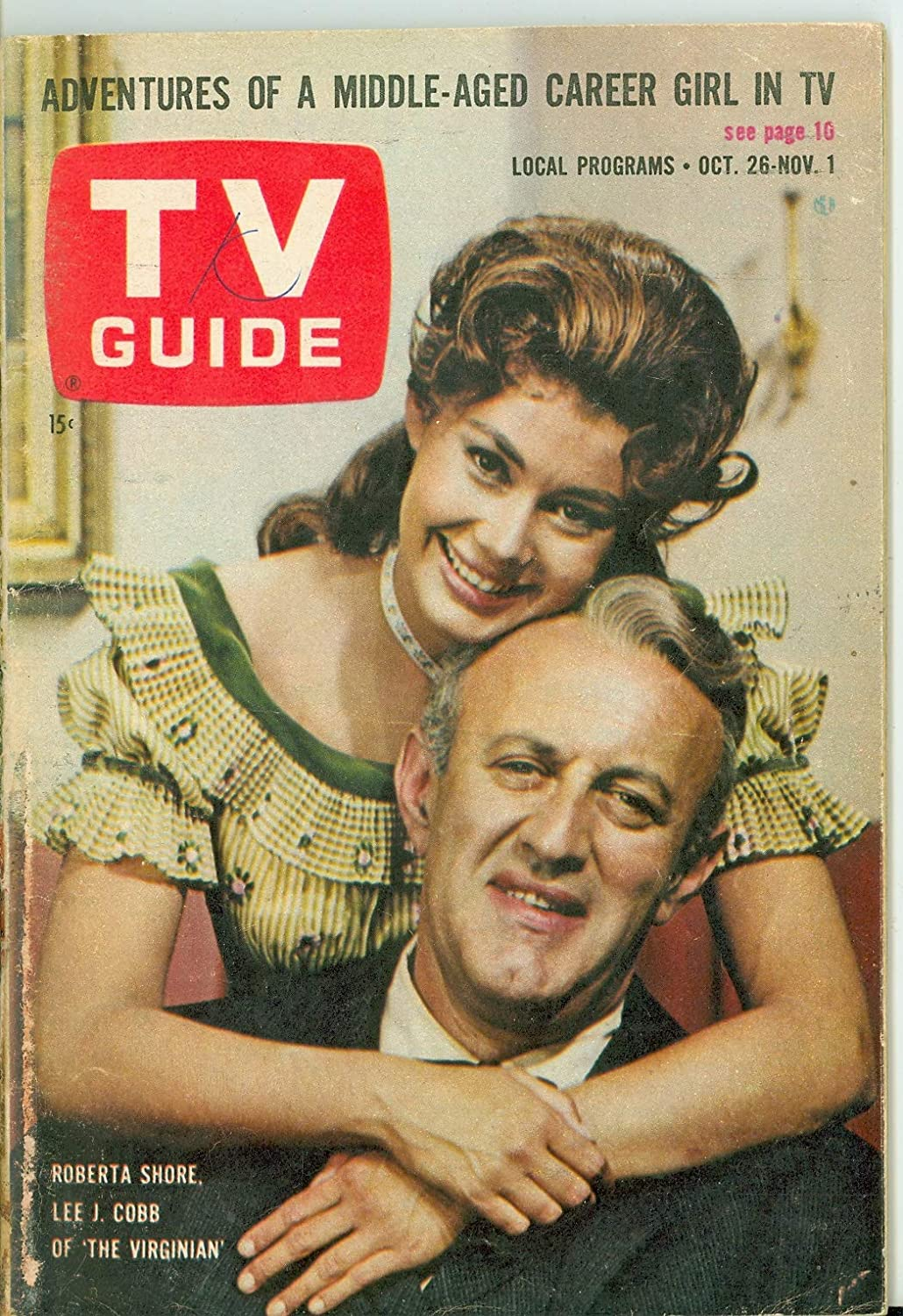 1963 TV Guide Oct 26 The Southern Edition All Under blast sales stores are sold Virginian - Very Ohio
