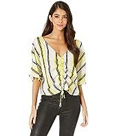 Atala Striped Crepe Shirt