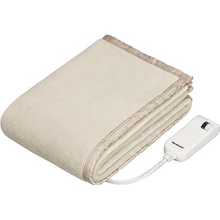 パナソニック 電気しき毛布 シングル 160×85cm 丸洗い可 室温センサー付 ベージュ DB-UM4LS-C