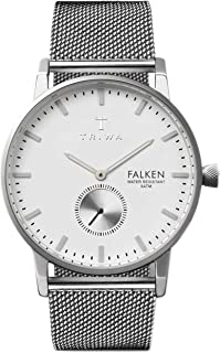 Triwa Unisex-Adult Quartz Falken Watch analog Display and Stainless Steel Strap, FAST103-ME021212