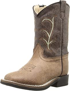 Old West Kids Boots Square Toe Vintage (Toddler)