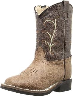Old West Kids Boots Kids' Square Toe Vintage (Toddler)