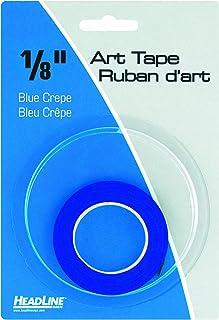 شريط فني تصويري 73084، أزرق، عرض 1/8 بوصة، طول 824 بوصة