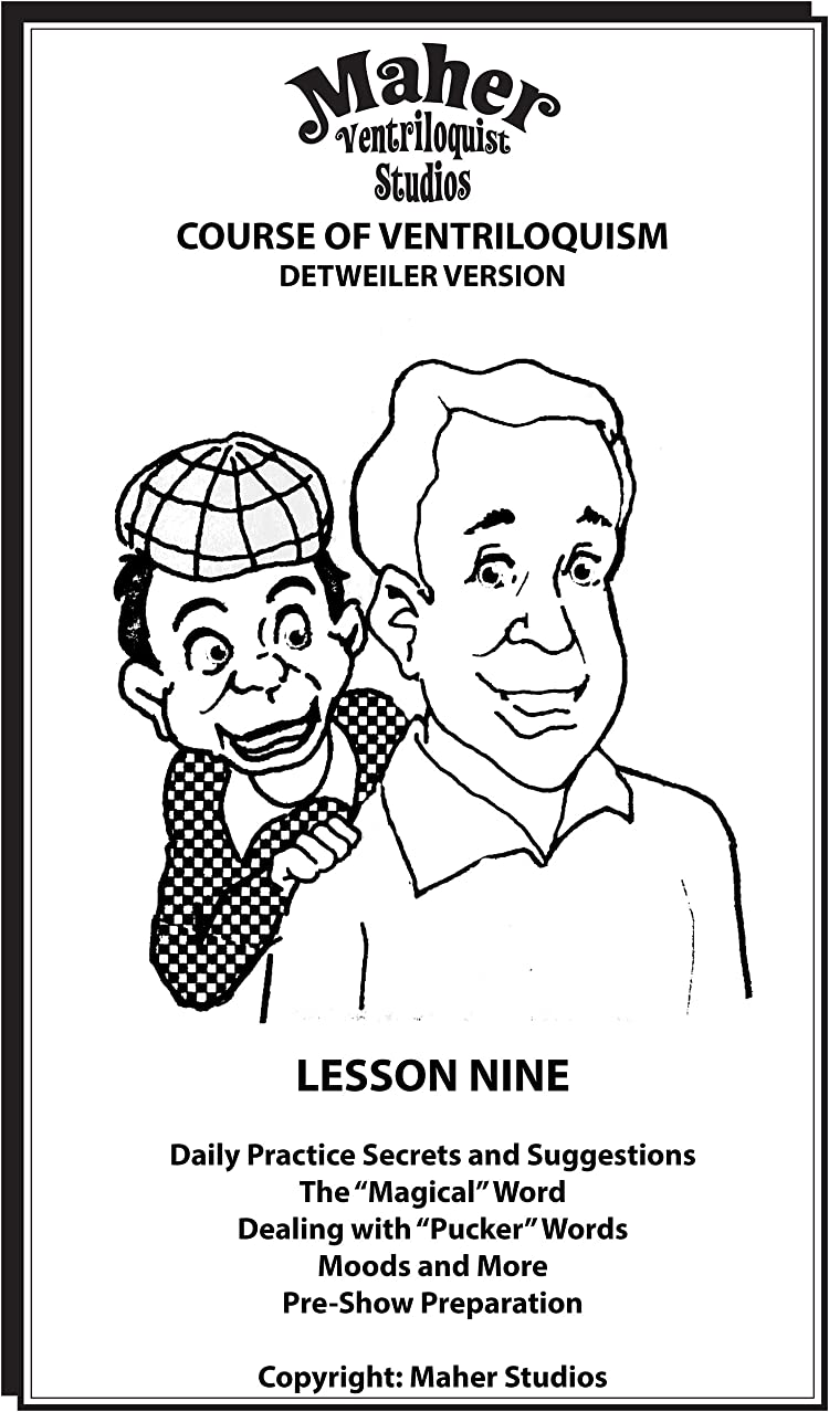 宣教師変更可能前任者Maher Course Of Ventriloquism - Lesson Nine: Detweiler Version (English Edition)