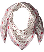 Kate Spade New York - Lips Diamond Scarf