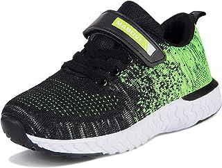 Enfants Sneakers Garçon Fille Antidérapantes Running Chaussures de Légères Respirante Chaussures Décontractées pour École ...