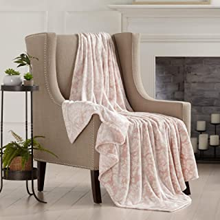 Home Fashion Designs Velvet Plush Soft Throw Blanket (Rose Smoke)