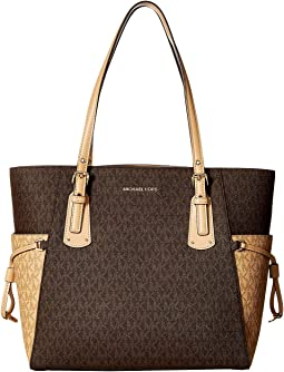 Voyager Signature East/West Tote