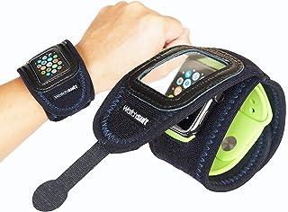 《Watch suit VIEW》はApplewatch、腕時計を5秒で簡単装着する保護カバーです。透明保護フイルムの上からスマートウオッチの操作可能なソフトカバー 、Fitbit versa、SONY Smartwatchでプールで水泳等にも...