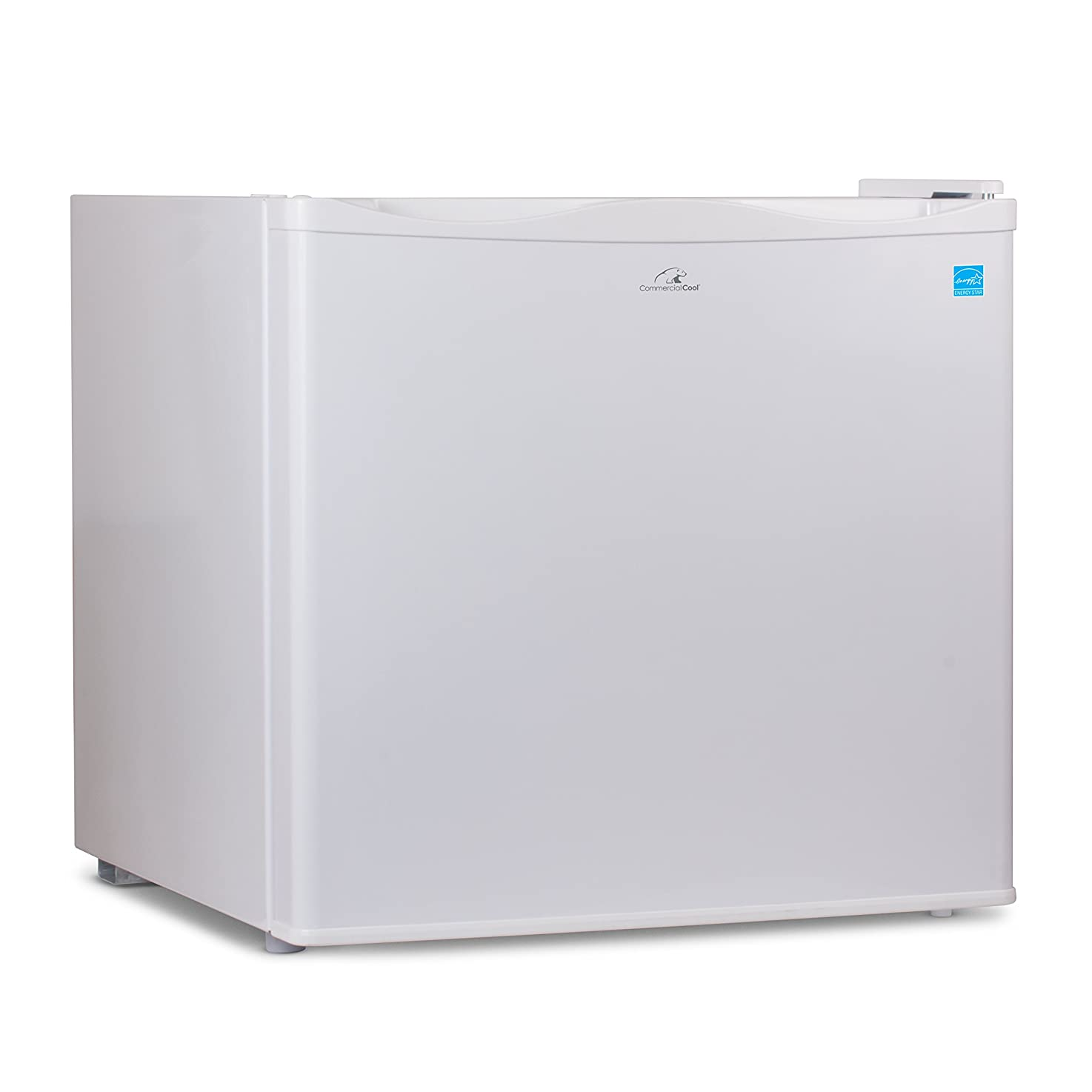 Commercial Cool CCUK12W 1.2 Cu. Ft. Upright Freezer with Adjustable Thermostat Control and R600a Refrigerant, White ombnbbqbxzoes7