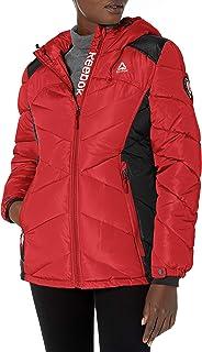 Reebok womens Puffer Jacket Down Alternative Coat