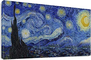 Best starry night canvas reproduction Reviews