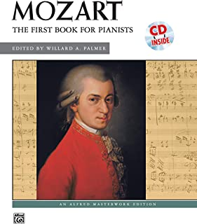 First Book for Pianists - Wolfgang Amadeus Mozart