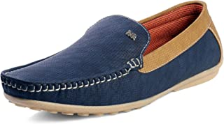Red Rose Men's Blue Loafer Shoes/Casual Shoes/Sneakers Shoes for Men's