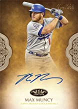 2019 Topps Tier One #PPA-MMU Max Muncy Certified Autograph Baseball Card - Only 299 made!
