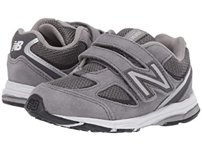 New Balance Kids IO888v2 (Infant/Toddler) (Dark Grey/Grey) Boys Shoes