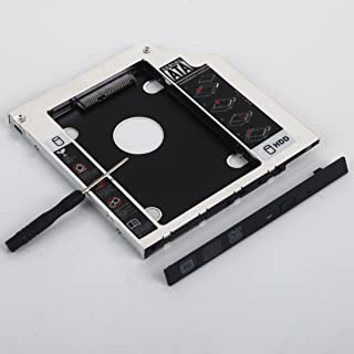 DY-tech 2nd SATA Hard Drive SSD Caddy Adapter for Dell Optiplex 760 780 790 960 980 990 1070 9010 9020