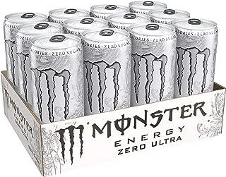 Monster Energy Zero Ultra, 10.5 Fluid Ounce (Pack of 12)