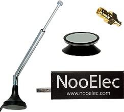 NooElec NESDR Mini 2+ Al: 0.5PPM TCXO RTL-SDR & ADS-B USB Receiver Set w/Heavy Duty Aluminum Enclosure & Antenna. RTL2832U & R820T2 Tuner. Low-Cost Software Defined Radio