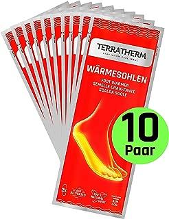 TerraTherm Plantillas Calentadoras - 10 Pares, calientapiés