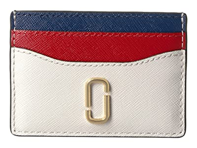 Marc Jacobs Snapshot Card Case (Coconut Multi) Credit card Wallet