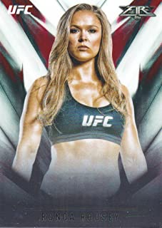 2017 Topps Chrome UFC MMA Fire #UF-RR Ronda Rousey