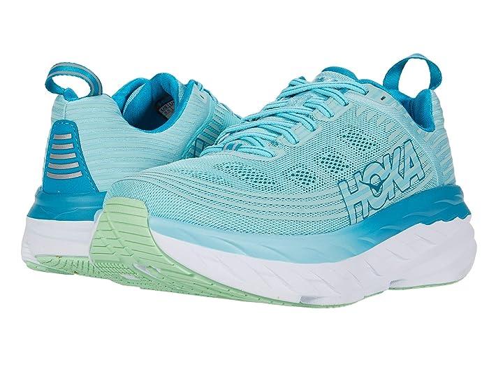 Hoka One One  Bondi 6 (Antigua Sand/Caribbean Sea) Womens Running Shoes