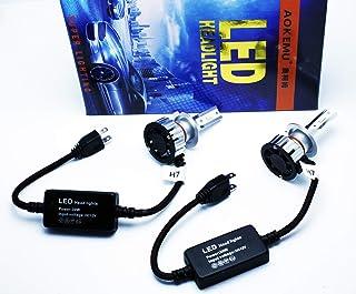KIT LED H7 PX26d 12V SEAT LEON I II III CANBUS 1 2 3 3000 + 3000 LM BLANCO 6000K LUCES CRUCE CARRETERA