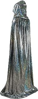 Unisex Full Length Hooded Cape Halloween Christmas Adult Cloak