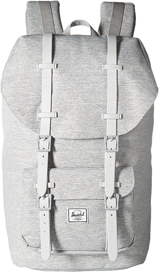 Light Grey Crosshatch/Grey Rubber