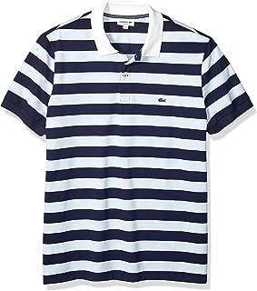 Men's S/S Polo Pique Regular Fit Striped