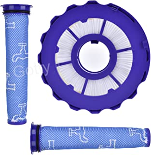 Replacement Filter Kit for Dyson DC40 Hepa Post Motor Filter&Pre-Motor Filter fits Multi Floor,Animal,Compatible Part#923587-02,922676-01
