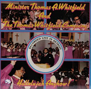 Best thomas whitfield hallelujah anyhow Reviews