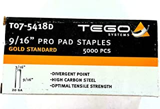 T07-5418D 9/16 Pro Pad Staples