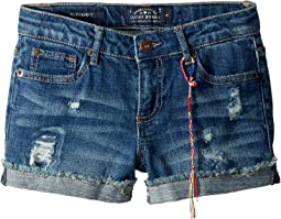 Ronnie Stretch Cuffed Shorts in Ada (Big Kids)
