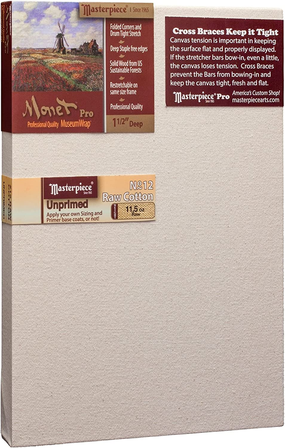 Masterpiece Artist Canvas MR-1329 Special price for a limited time Monet Pro x Max 71% OFF 2 1-1 13