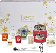 YANKEE CANDLE Set with Scented Candles & Accessories, 11-Piece Candle