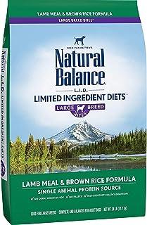 Natural Balance Limited Ingredient Breeds