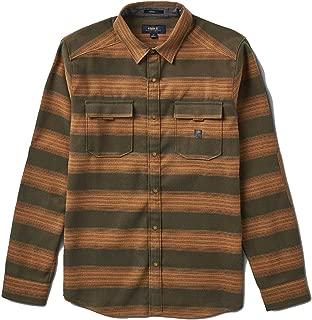 Roark Diablo (Army) Flannel Button-Up