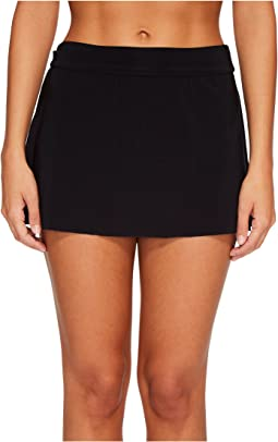 Solid Jersey Tennis Skirt Bottom