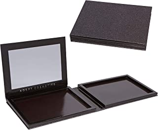 Double Sided Empty Magnetic Makeup Palette with Mirror Holds 70 Standard Magnetic Eyeshadows. Depot your Highlighters, Blushes, Powders and more