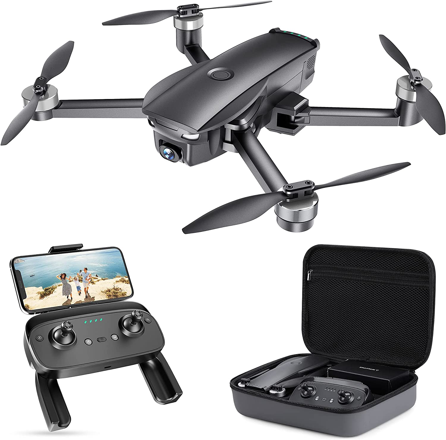 Directly managed store Snaptaⅰn SP7100 Sale SALE% OFF 4K GPS Drone with Adults for Folda Camera UHD