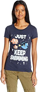 Disney Pixar Juniors Just Swimming Graphic T-Shirt