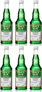 Clubman Osage Rub Invigorating Splash for Head and Face Facial Astringents (6Pack)