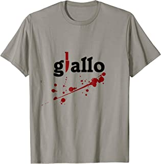 Best giallo t shirts Reviews