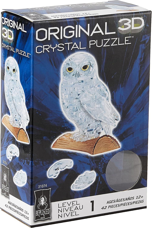 3D Crystal Jigsaw Puzzle - Owl
