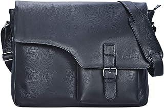 """STILORD Valerian"""" Leder Umhängetasche Herren Messenger Bag Business Uni Büro groß DIN A4 Laptoptasche Aktentasche Vintage Rindsleder"""