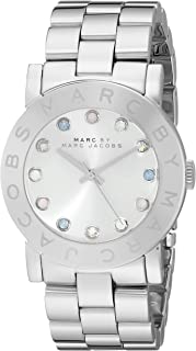 Marc by Marc Jacobs Women's MBM3214 Analog Display Analog Quartz Silver Watch