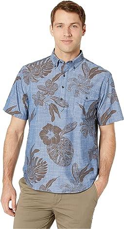 Tatau Fronds Hawaiian Shirt